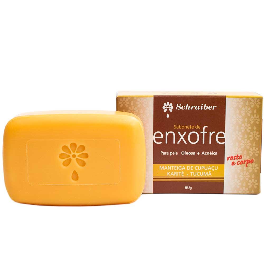 Sabonete de Enxofre - 80g.