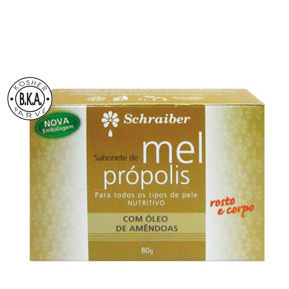 Sabonete de Mel e Própolis - 80g.