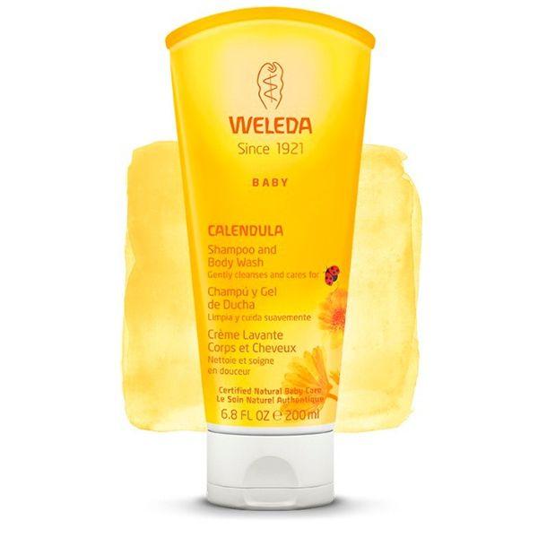 Shampoo & Body Wash de Calêndula 200ML - Weleda