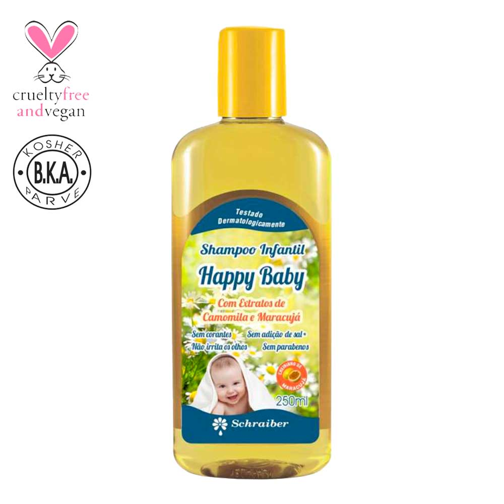 Shampoo Infantil - Happy Baby - 250ML