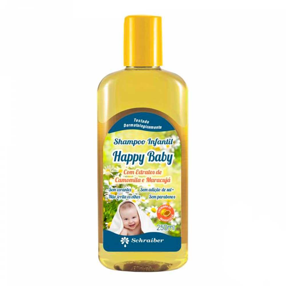 Shampoo Infantil - Happy Baby - 250ML