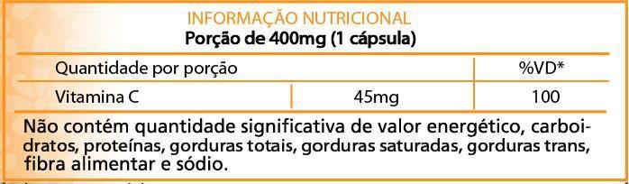 Suplemento Vitamina C base Acerola