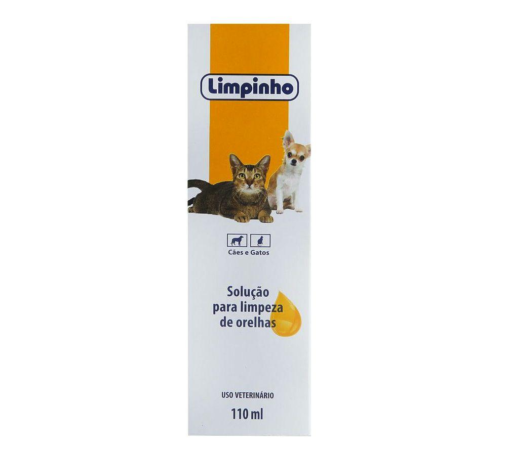 Solução para Limpar Orelhas - 110 mL - Limpinho