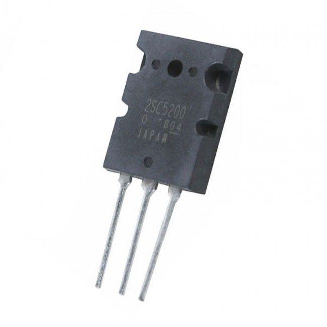 Transistor Bipolar 2SC5200 TO-247 230V (Toshiba) - Compre aqui !
