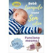 Almofada Térmica de Ervas Bebê sem Cólica - Nuvem Azul com Cinta