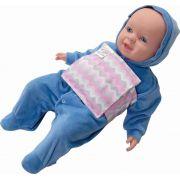 Almofada Térmica Ervas Naturais Bebê sem Cólica - Relevo Rosa com Cinta