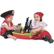Barco Aventura Pirata Brinquedo Infantil Didático - Mercotoys