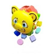 Brinquedo Educativo Balde Didático Onça - Mercotoys