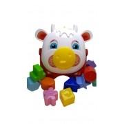 Brinquedo Educativo Balde Didático Vaquinha Joly - Mercotoys