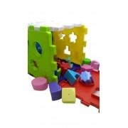 Brinquedo Educativo Cubo Didático Colorido Vira Tapete - Mercotoys