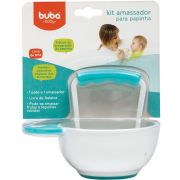 Kit Amassador Papinha Azul - Buba Baby