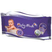 Kit com 12 Pacotes de Lenços Umedecidos Baby Bath