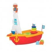 Mega Barco Didático Brinquedo Infantil - Mercotoys