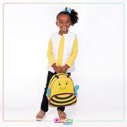 Mochila Infantil Animais Abelhinha Linha Let's Go - Comtac Kids