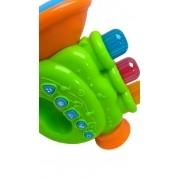 Trompete Musical Infantil Com Sons e Luzes Verde - Well Kids