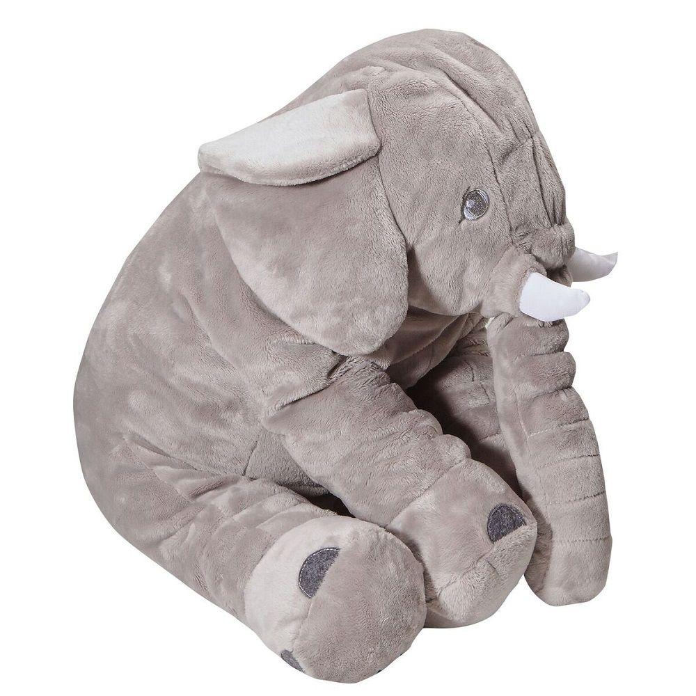 Almofada Pelúcia Elefante Buguinha Bup Baby 60 cm - Original