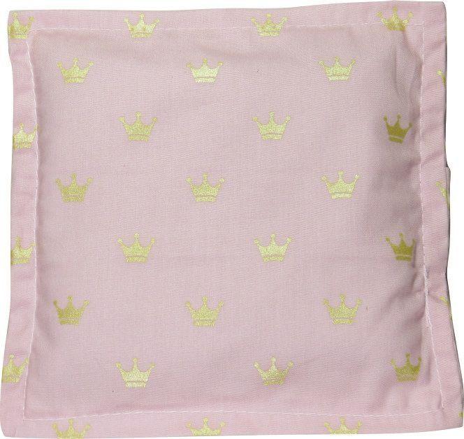 Almofada Térmica de Ervas Bebê sem Cólica - Coroa Rosa sem Cinta