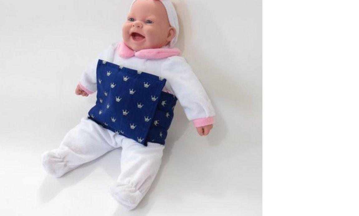 Almofada Térmica de Ervas Naturais Bebê sem Cólica - Cinta