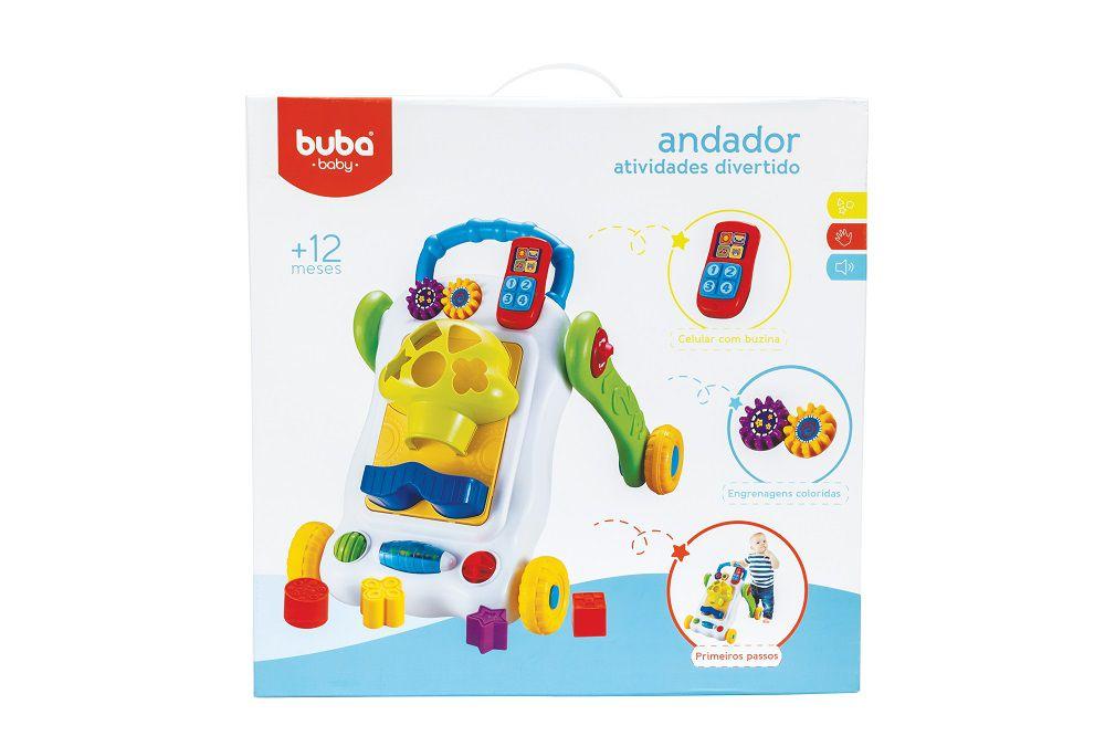 Andador de Atividades Divertido para Bebê - Buba Baby