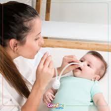 Aspirador Nasal Ponta de Silicone Alivium Baby - Comtac Kids