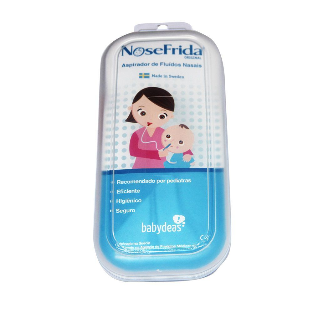 Aspirador Nasal + Refil 20 Filtros Nosefrida - Original