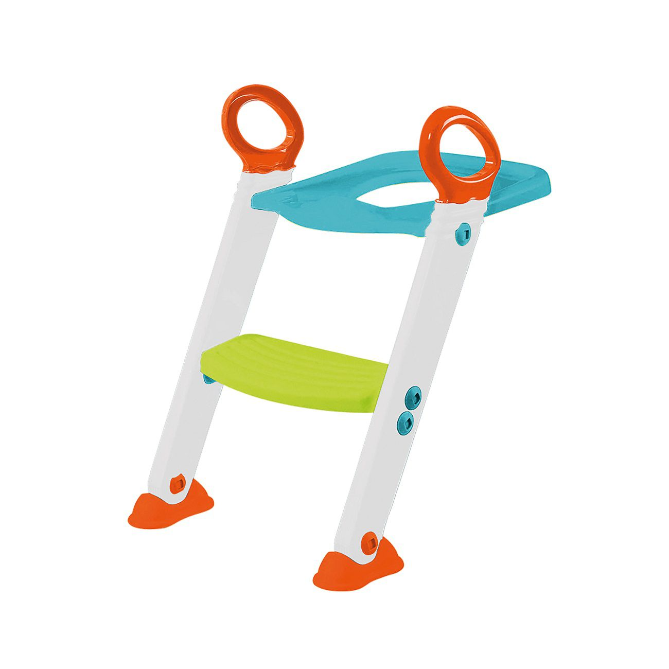 Assento Redutor com Escada para Desfralde Azul Original - Buba Baby
