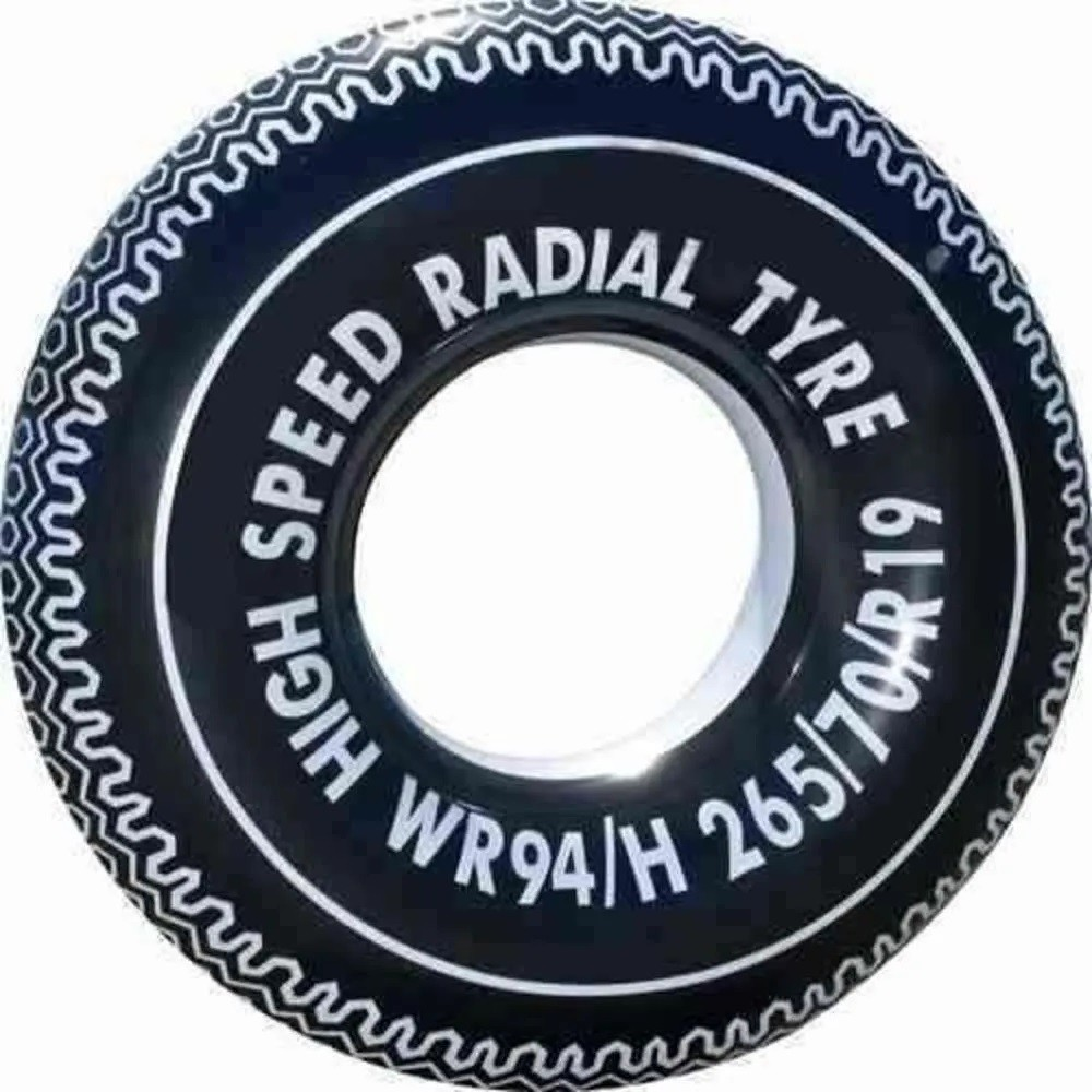 Boia de Cintura Circular Inflável 90 cm Pneu - Summer Fun
