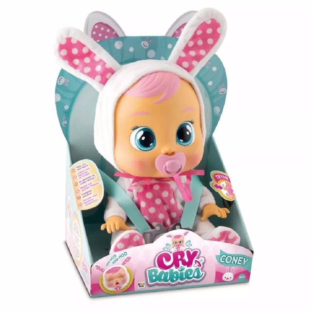 Boneca Cry Babie Coney Original - Multikids
