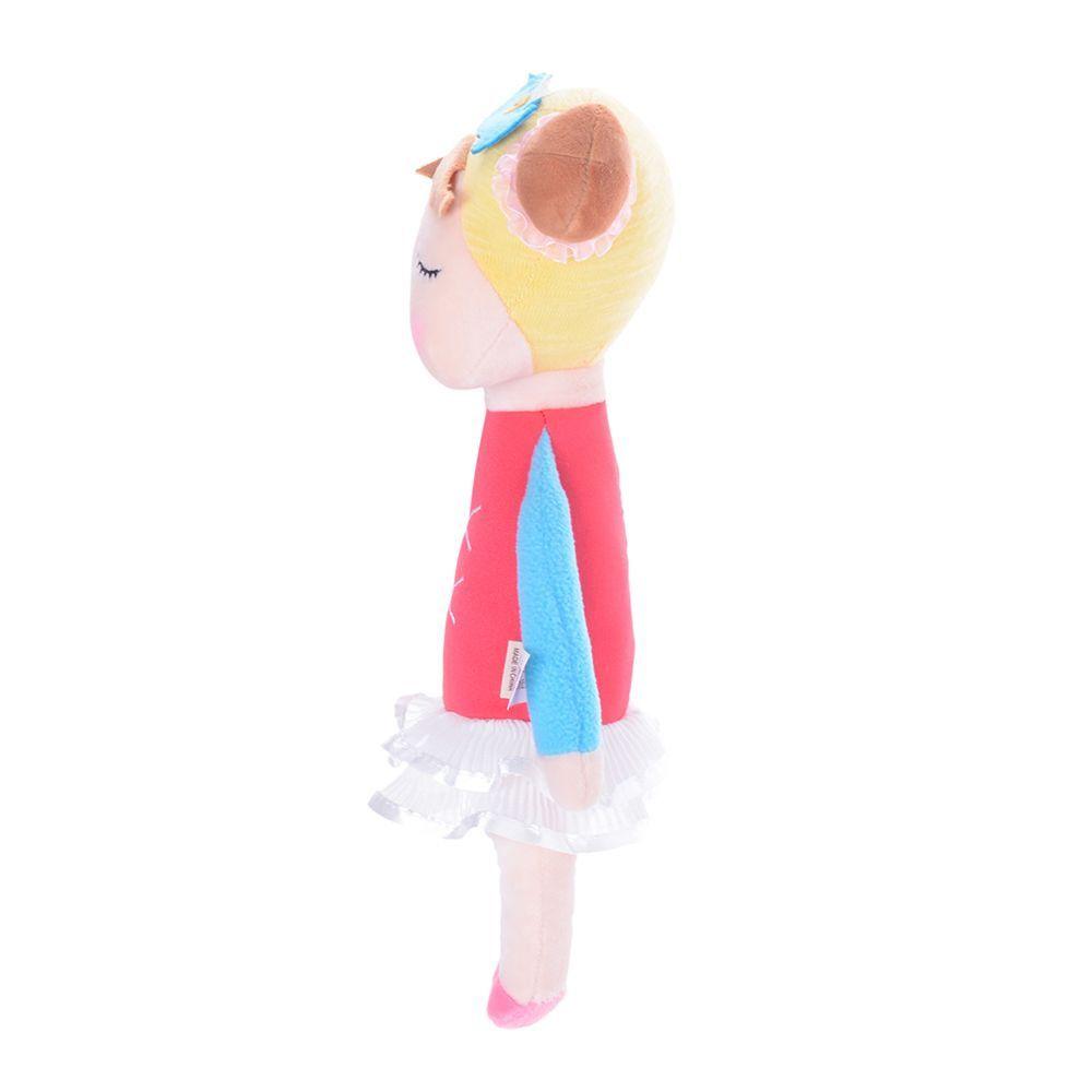 Boneca Metoo Angela Bailarina Vermelha Original 33 cm