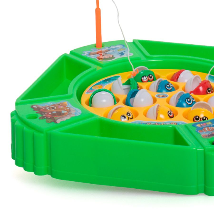 Brinquedo Infantil Pega Peixe - Dican