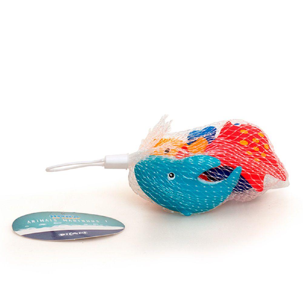 Brinquedos Para Banho Animais Marinhos I - Dican