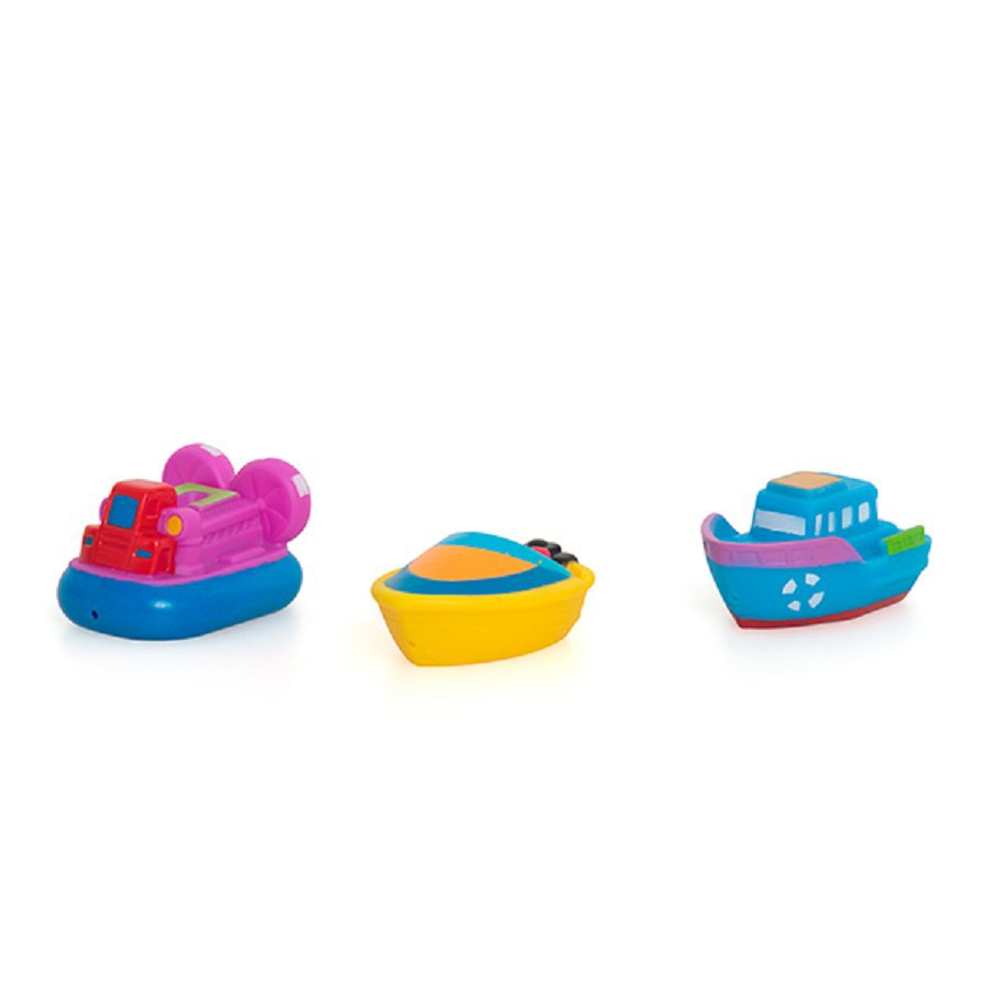 Brinquedos Para Banho Barquinhos Coloridos - Dican