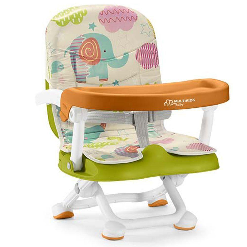 Cadeira de Alimentação Portátil Pop'n Eat Animaizinhos - Multikids