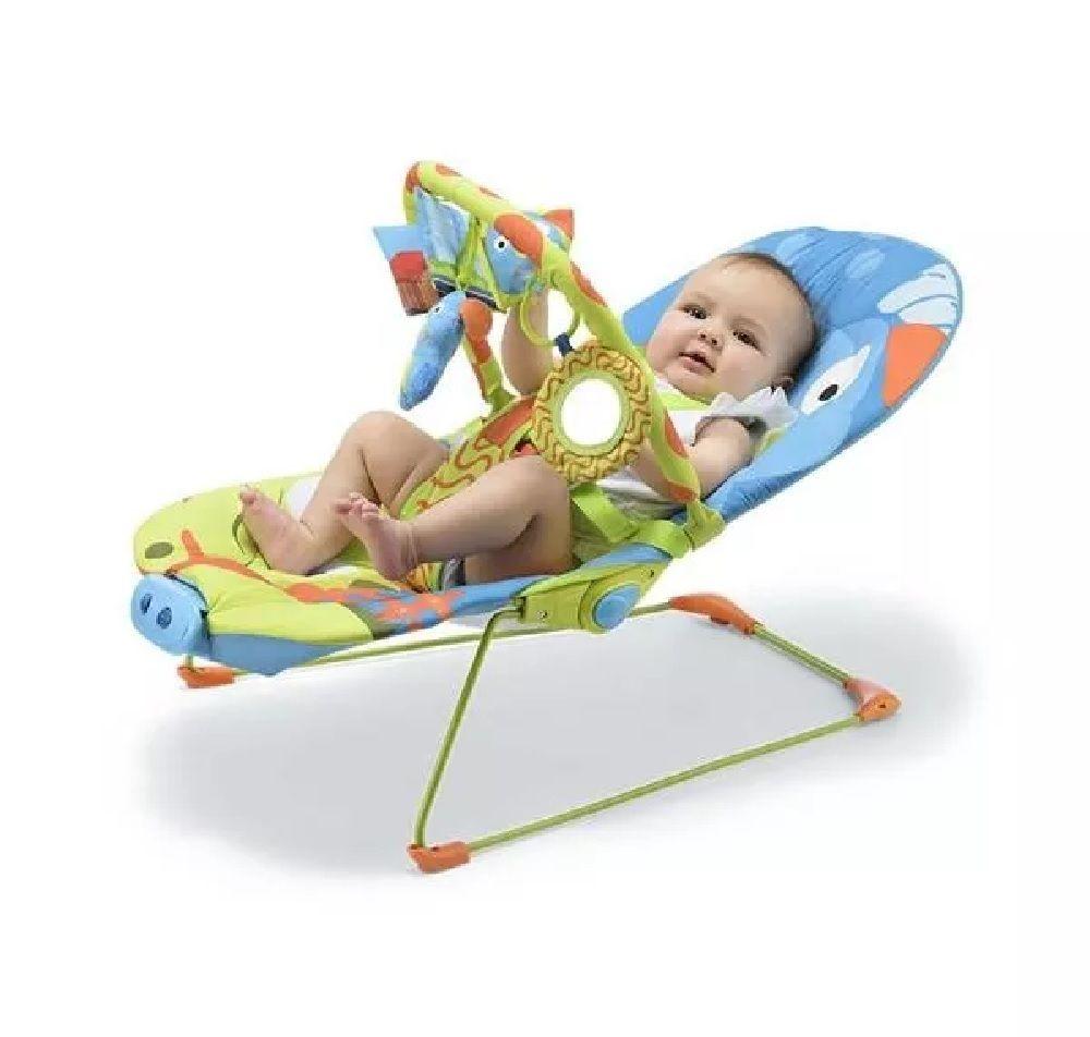 Cadeira de Descanso Musical Cachorro 0-15 Kg - Multikids Baby