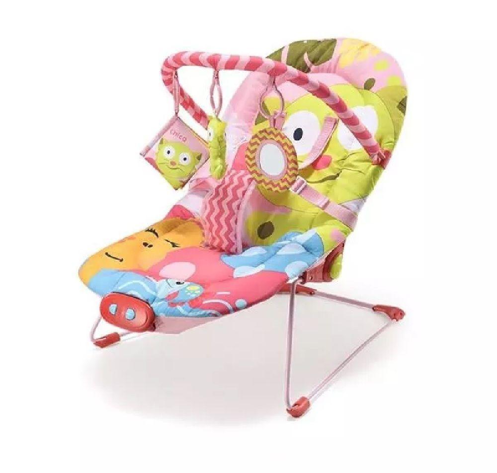 Cadeira de Descanso Musical Gatinha - Multikids Baby