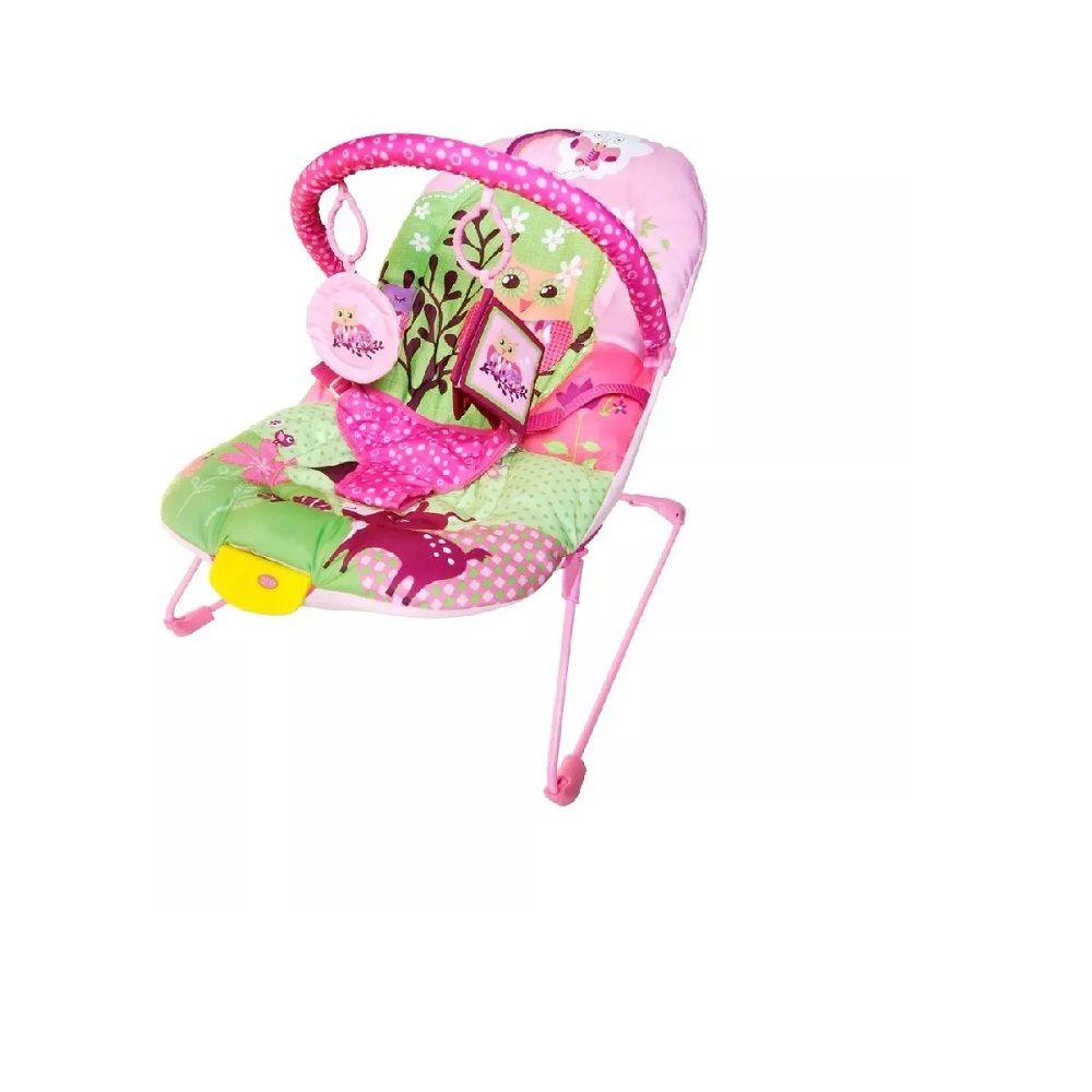 Cadeira de Descanso Soft Ballagio Vibratória - Rosa