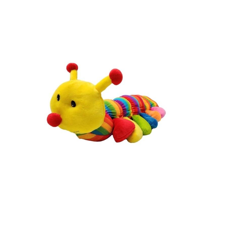 Centopeia de Pelúcia Antialérgica Colorida 51 cm - Fizzy