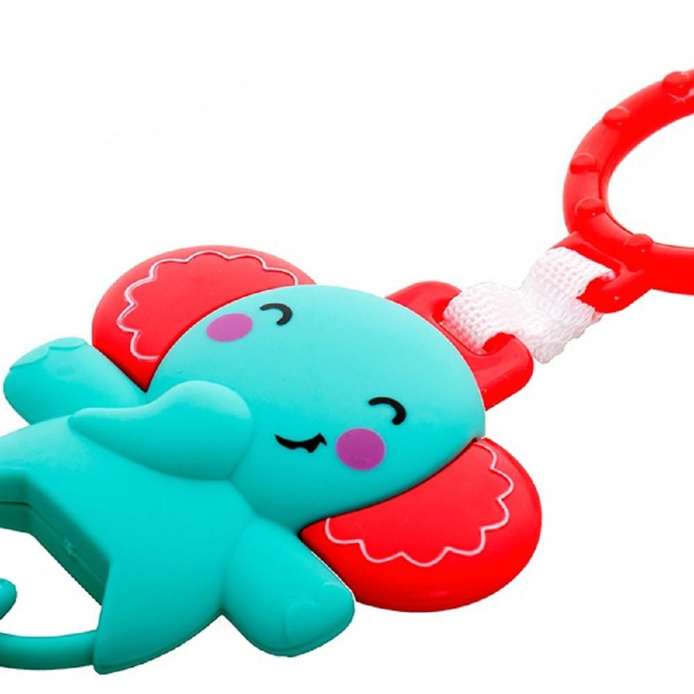 Chocalho Elefante Azul - Dican