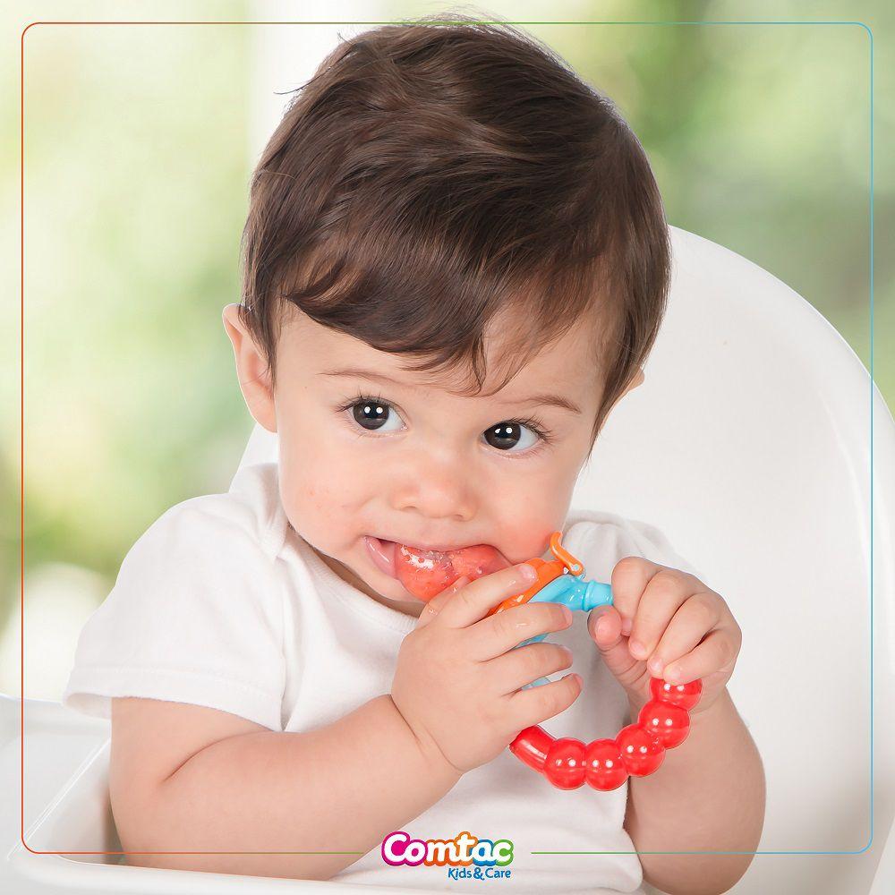 Chupeta Alimentadora Frutas Tela - Comtac Kids
