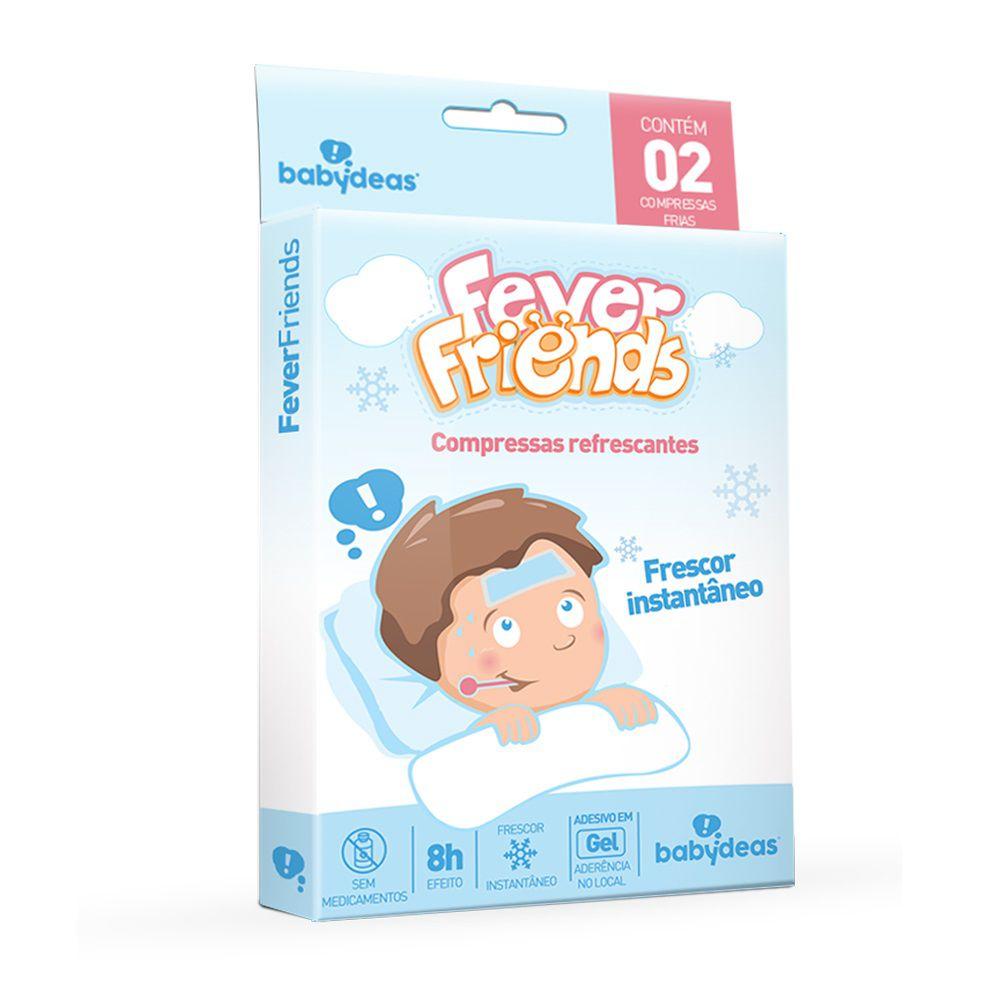 Compressas Refrescantes Para Febre Fever Friends - Babydeas