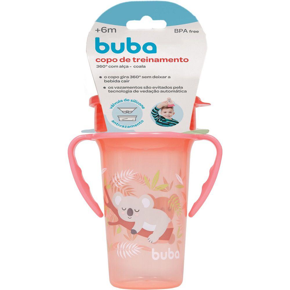 Copo Infantil de Treinamento Alça 360° Coala - Buba Baby