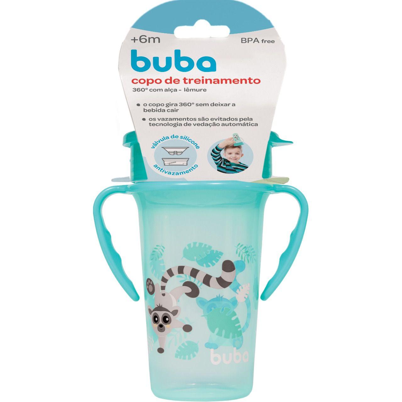 Copo Infantil de Treinamento com Alça 360° Lêmure - Buba Baby