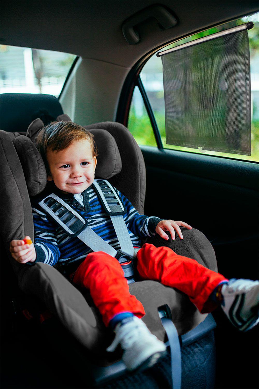 Cortina Protetora Retrátil Luxo para Carro Extra Grande - Clingo
