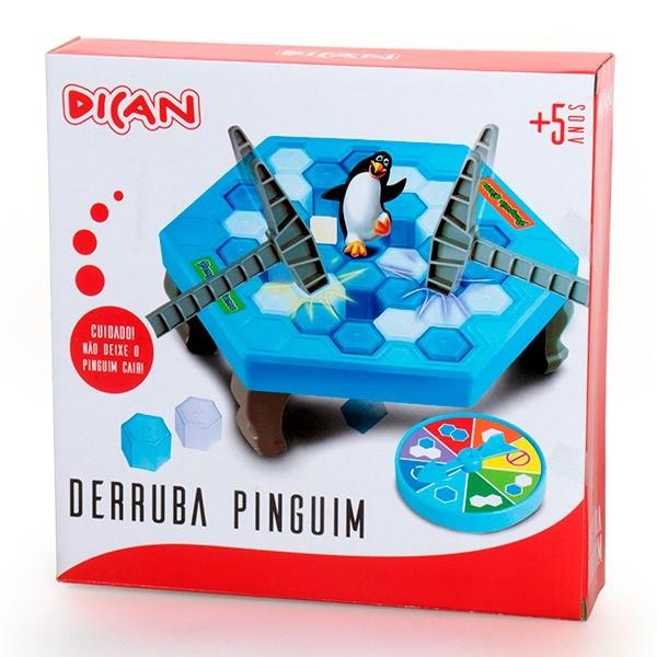 Jogo Infantil Derruba Pinguim - Dican