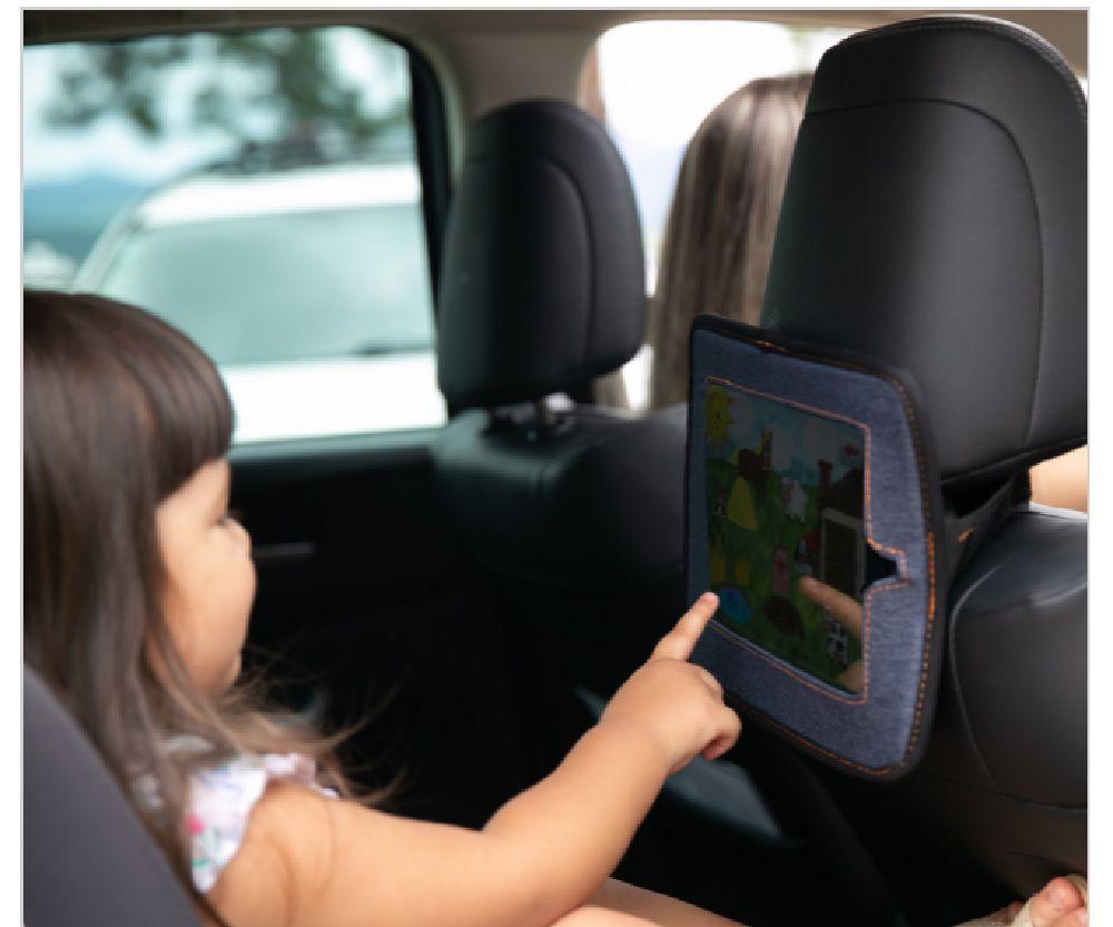 Espelho Retrovisor Interno e Suporte para Ipad - Comtac Kids
