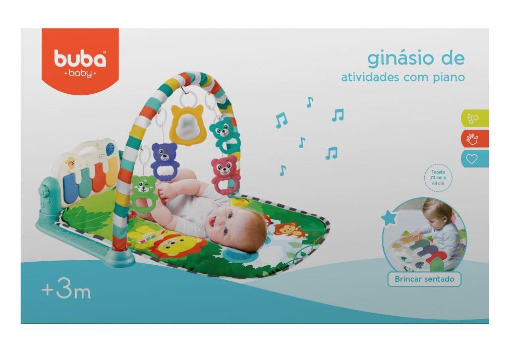 Ginásio de Atividades com Piano USB Safari - Buba Baby