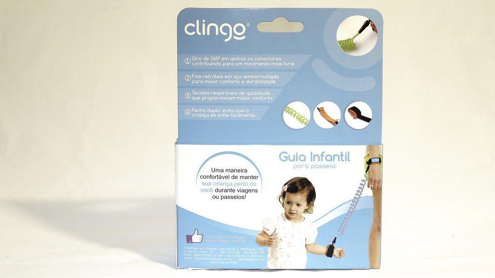 Guia Infantil para Passeio Rosa - Clingo