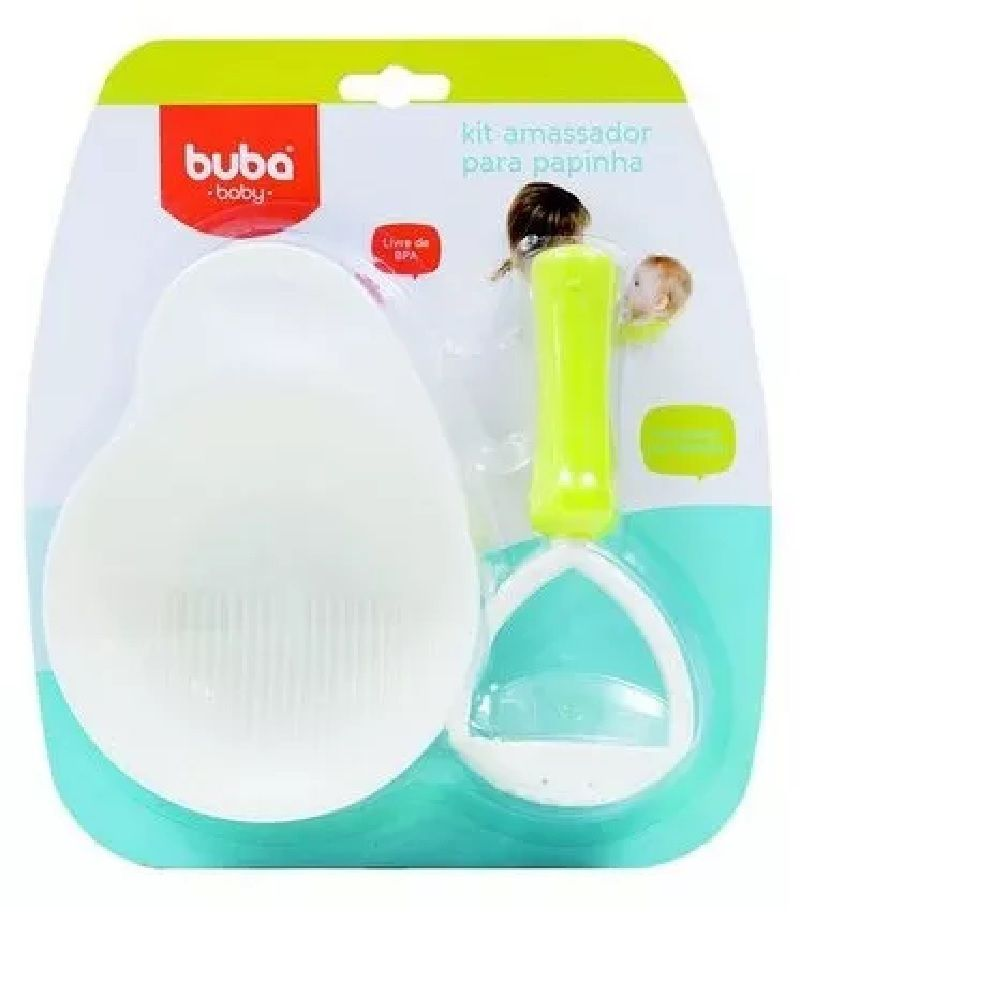 Kit Amassador para Papinha - Buba Baby
