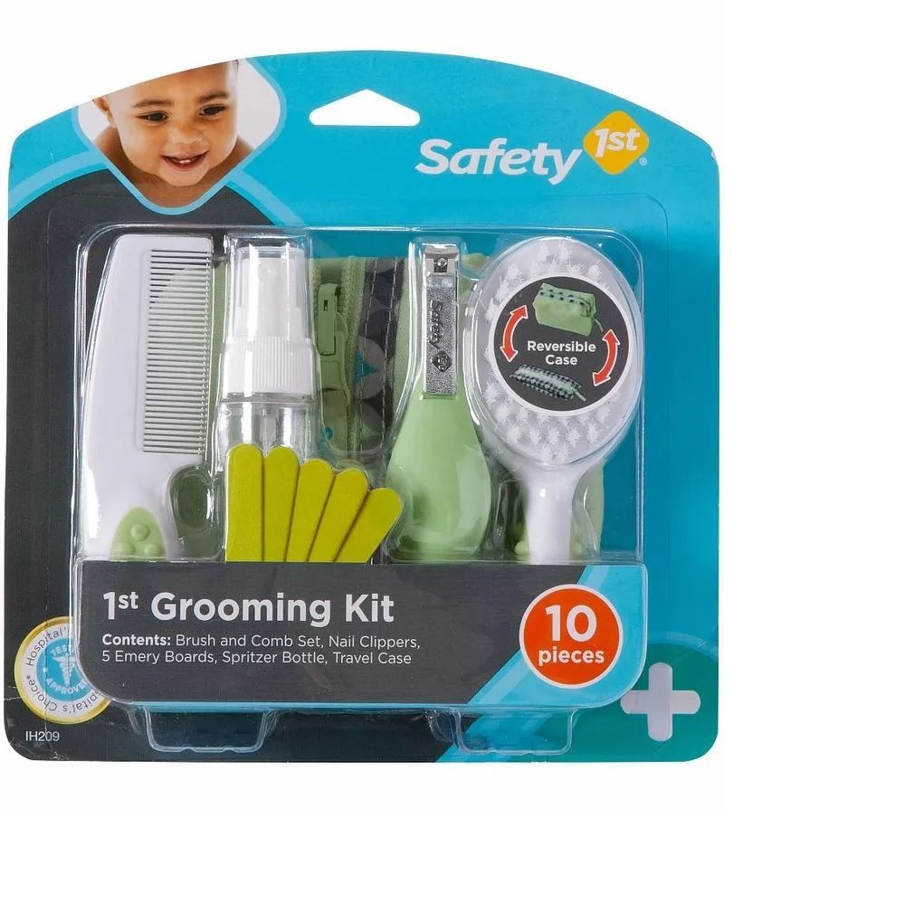 Kit Completo de Higiene e Beleza (Verde) 10 Peças - Safety