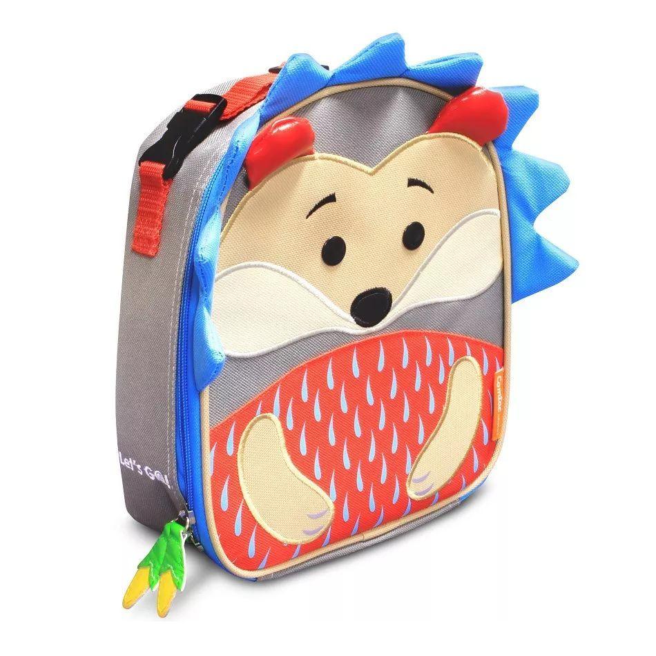 Lancheira Infantil Animais Porco Espinho - Linha Let's go